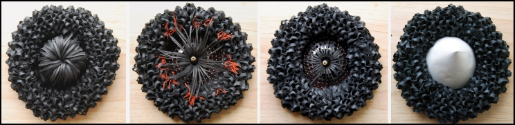 Domestic Primitive knitted rubber bicycle inner tubes